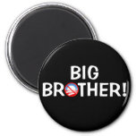 ¡Hermano mayor! - Obama Imán Para Frigorífico