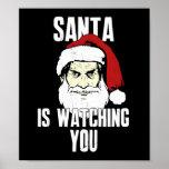 Hermano mayor Papá Noel le está mirando Poster