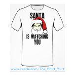 Hermano mayor Papá Noel le está mirando Tarjetones