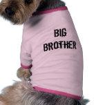Hermano mayor ropa de perros