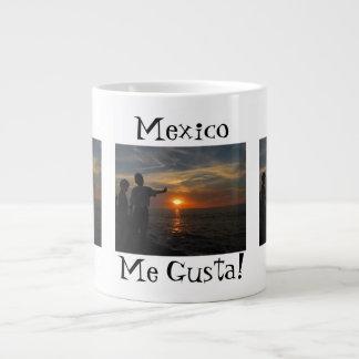 Hermanos al Atardecer; Mexico Souvenir Giant Coffee Mug