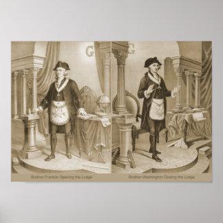 Hermanos Ben y George Póster