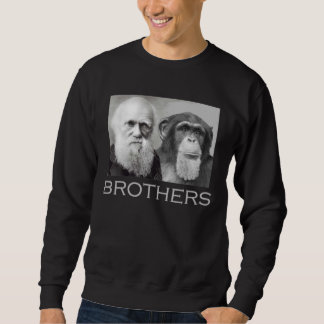 Hermanos de Darwin y del chimpancé Sudadera