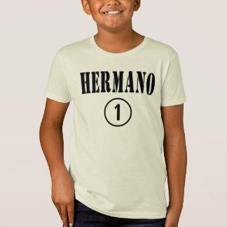 Hermanos de habla hispana: Uno de Hermano Numero Playera