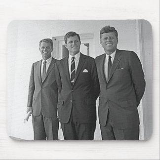 Hermanos de Kennedy, Juan, Ted, Roberto Alfombrillas De Ratón