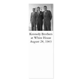Hermanos de Kennedy Juan Ted Roberto Tarjetas De Visita