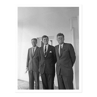 Hermanos de Kennedy Juan Ted Roberto Tarjetas Postales