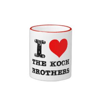 Hermanos de Koch Taza De Dos Colores