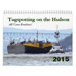 Hermanos de la paleta: Tugspotting en el Hudson Calendario