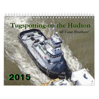 Hermanos de la paleta: Tugspotting en el Hudson Calendario De Pared
