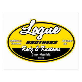 Hermanos de Logue Tarjeta Postal
