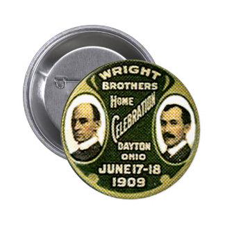 Hermanos de Wright - botón Pin Redondo De 2 Pulgadas