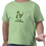 Hermanos del dinosaurio camiseta