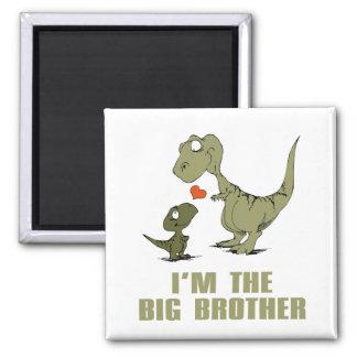 Hermanos del dinosaurio iman