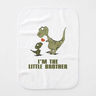 Hermanos del dinosaurio paños para bebé