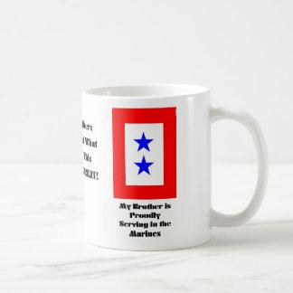 Hermanos, estrella azul marina, ejército de la taza clásica