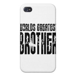 Hermanos frescos retros: Brother más grande del mu iPhone 4/4S Funda