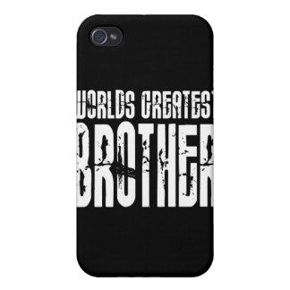 Hermanos frescos retros: Brother más grande del mu iPhone 4 Cárcasas