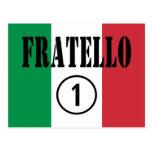 Hermanos italianos: Uno de Fratello Numero Tarjetas Postales