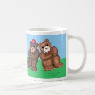 ¡Hermanos! Taza del oso