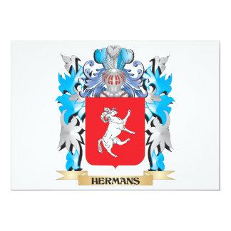 Hermans Coat of Arms - Family Crest Custom Invites