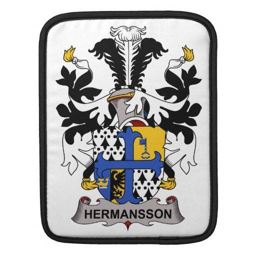Hermansson Family Crest iPad Sleeve