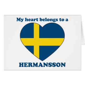 Hermansson Tarjetas