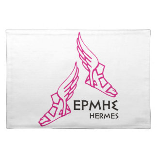 Hermes / Ermis - One of the 12 Greek Gods Cloth Placemat