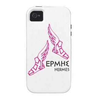 Hermes/Ermis - uno de 12 dioses griegos Vibe iPhone 4 Carcasas
