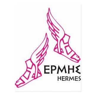 Hermes/Ermis - uno de 12 dioses griegos Tarjetas Postales