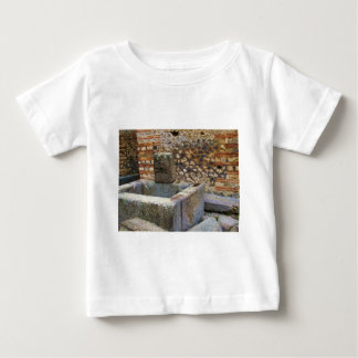 Hermes Fountain, Pompeii Baby T-Shirt