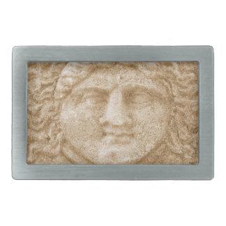 Hermes Greek God Rectangular Belt Buckles