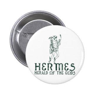 Hermes Pin Redondo De 2 Pulgadas