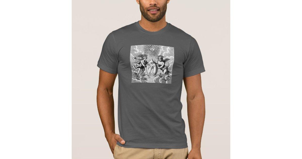 Hermes quicksilver alchemy t shirt zazzle for Alchemy design t shirts
