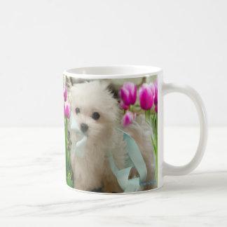 Hermes the Maltese Coffee Mug