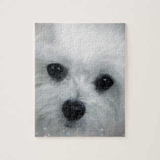 Hermes the Maltese Jigsaw Puzzle