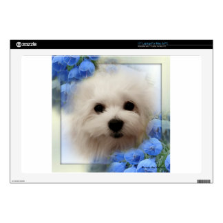 Hermes the Maltese Laptop Decals