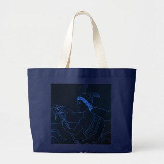Hermes - The Messenger God Large Tote Bag
