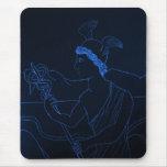 Hermes - The Messenger God Mouse Pad