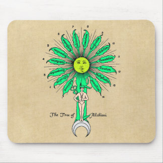 Hermes Tree of Alchemy Mouse Pad