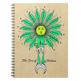 Hermes Tree of Alchemy Note Books
