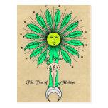 Hermes Tree of Alchemy Post Cards