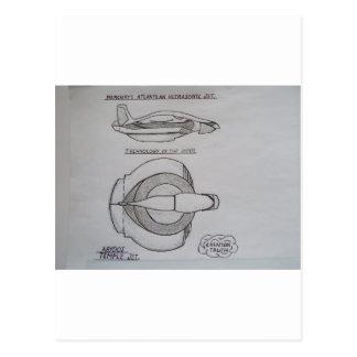 Hermes Ultrasonic jet Postcard