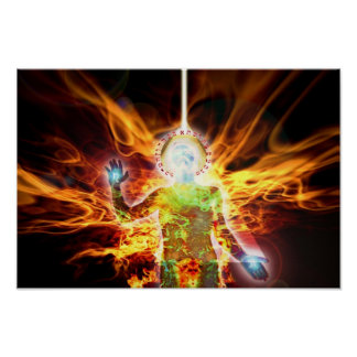 Hermetic Fire Poster