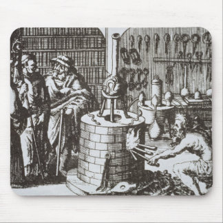 Hermetic Philosophers and an Alchemist, from 'Muse Mouse Pad