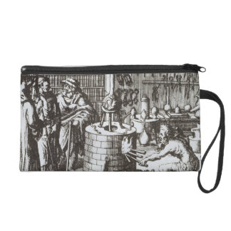 Hermetic Philosophers and an Alchemist, from 'Muse Wristlet Purse