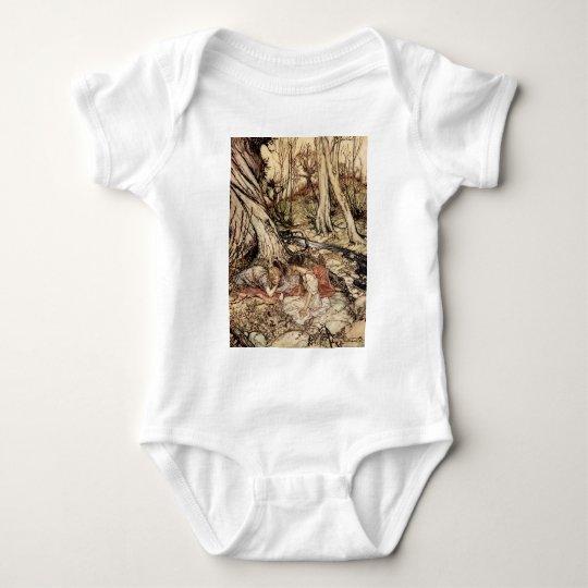 Hermia and Lysander Baby Bodysuit
