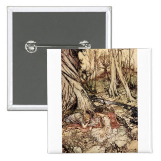 Hermia and Lysander Pinback Button