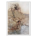 Hermia by Stream Greeting Card