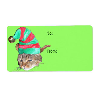 Hermie the Elf Holiday Gift Tags